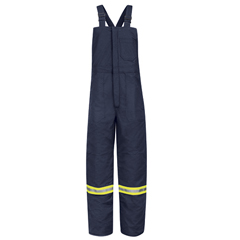 UNFBLCTNV-RG-XL - BulwarkMens EXCEL FR® ComforTouch® Deluxe Insulated Bib Overall with Reflective Trim