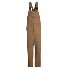 UNFBLF8BD-LN-L - BulwarkMens EXCEL FR® ComforTouch® Duck Unlined Bib Overall