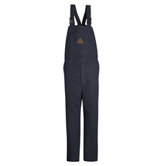 UNFBLF8NV-RG-M - BulwarkMens EXCEL FR® ComforTouch® Duck Unlined Bib Overall