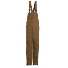 UNFBLN4BD-RG-XL - BulwarkMens EXCEL FR® ComforTouch® Duck Deluxe Insulated Bib Overall