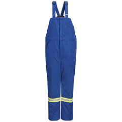 UNFBNNTRB-RG-XL - BulwarkMens Nomex® IIIA Deluxe Insulated Bib Overall with Reflective Trim