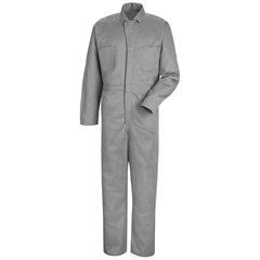 UNFCC14HB-LN-44 - Red KapMens Snap-Front Cotton Coverall