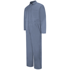 UNFCC14PB-RG-36 - Red KapMens Snap-Front Cotton Coverall