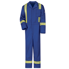 UNFCECTRB-RG-42 - BulwarkMens EXCEL FR® Classic Coverall with Reflective Trim
