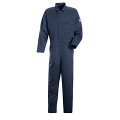 UNFCEH2NV-LN-M - BulwarkMens EXCEL FR® Classic Industrial Coverall