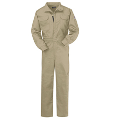 UNFCLB2KH-LN-50 - BulwarkMens EXCEL FR® ComforTouch® Premium Coverall - 7 oz.