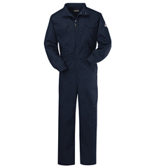UNFCLB2NV-LN-52 - BulwarkMens EXCEL FR® ComforTouch® Premium Coverall - 7 oz.