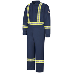 UNFCLBCNV-RG-58 - BulwarkMens EXCEL FR® ComforTouch® Premium Coverall with CSA Compliant Reflective Trim