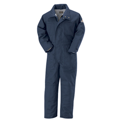 UNFCLC8NV-LN-L - BulwarkMens EXCEL FR® ComforTouch® Premium Insulated Coverall