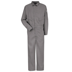 UNFCLD4GY-RG-34 - BulwarkMens EXCEL FR® ComforTouch® Deluxe Coverall - 6 oz.