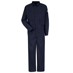 UNFCLD4NV-RG-56 - BulwarkMens EXCEL FR® ComforTouch® Deluxe Coverall - 6 oz.