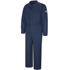 UNFCLD6NV-SH-56 - BulwarkMens EXCEL FR® ComforTouch® Deluxe Coverall