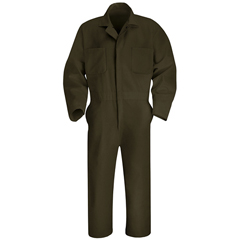 UNFCT10BN-LN-42 - Red KapMens Twill Action Back Coverall