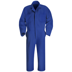 UNFCT10EB-RG-52 - Red KapMens Twill Action Back Coverall