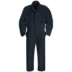 UNFCT10NV-LN-42 - Red KapMens Twill Action Back Coverall