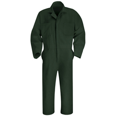 UNFCT10SG-RG-42 - Red KapMens Twill Action Back Coverall