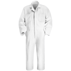 UNFCT10WH-LN-50 - Red KapMens Twill Action Back Coverall