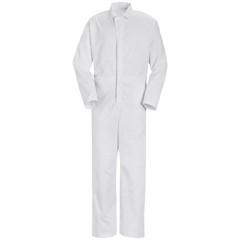 UNFCT16WH-RG-L - Red KapMens Twill Action Back Coverall