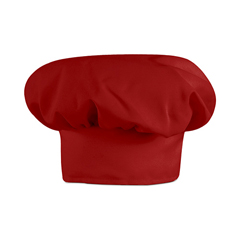 UNFHP60RD-RG-L - Chef DesignsMens Chef Hat