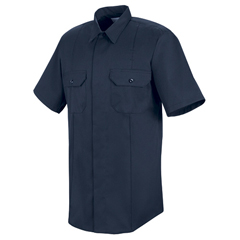 UNFHS1430-SS-M - Horace SmallMens New Dimension® Concealed Button Front Shirt