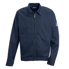 UNFJEW2NV-LN-L - BulwarkMens EXCEL FR® Zip-In/Zip-Out Jacket