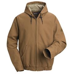 UNFJLH4BD-RG-L - BulwarkMens EXCEL FR® ComforTouch® Hooded Jacket