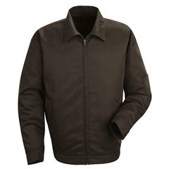 UNFJT22BN-RG-3XL - Red KapMens Slash Pocket Jacket