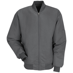 UNFJT38CH-RG-5XL - Red KapMens Solid Team Jacket