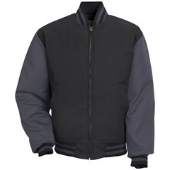 UNFJT40BC-LN-XXL - Red KapMens Duo-Tone Team Jacket