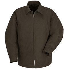 UNFJT50BN-RG-S - Red KapMens Perma-Lined Panel Jacket