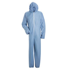 UNFKDE4SB-RG-L - BulwarkMens Chemical Splash Disposable Flame-Resistant Coverall