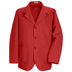 UNFKP10RD-RG-XL - Red KapMens Lapel Counter Coat