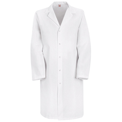 UNFKP38WH-RG-M - Red KapMens Specialized Lab Coat