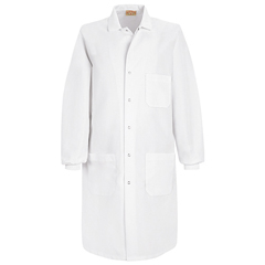 UNFKP70WH-RG-XL - Red Kap - Unisex Specialized Cuffed Lab Coat