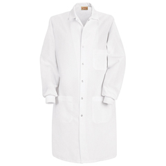 UNFKP72WH-RG-S - Red Kap - Unisex Specialized Cuffed Lab Coat