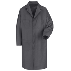 UNFKT30CH-RG-48 - Red KapMens Shop Coat