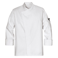 UNFKT80WH-RG-M - Chef DesignsMens Tunic Chef Coat