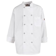 UNFKV30WH-RG-3XL - Chef DesignsMens Vented Back Chef Coat