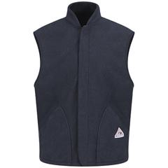 UNFLMS6NV-RG-M - BulwarkMens Modacrylic Fleece Vest Jacket Liner