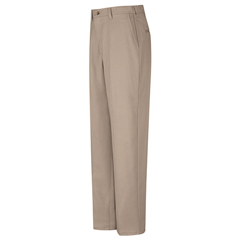 UNFPC44KH-30-37U - Red KapMens Plain Front Cotton Pant