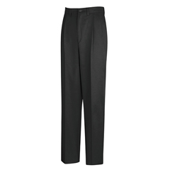 UNFPC46BK-37-37U - Red KapMens Pleated Front Cotton Pant