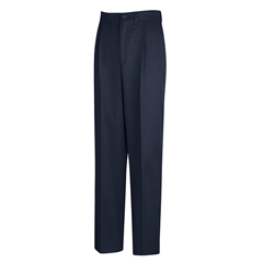 UNFPC46NV-29-36U - Red KapMens Pleated Front Cotton Pant