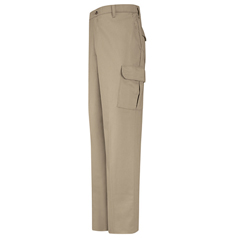 UNFPC76KH-38-34 - Red KapMens Cotton Cargo Pant