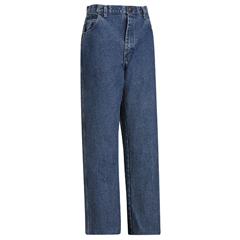 UNFPEJ6SW-36-37U - BulwarkMens EXCEL FR® Loose Fit Stonewashed Denim Jeans - 14.75 oz.