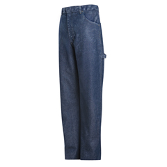 UNFPEJ8SW-38-37U - BulwarkMens EXCEL FR® Pre-Washed Denim Dungaree - 14.75 oz.