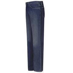 UNFPEJMSD-28-37U - BulwarkMens EXCEL FR® Straight Fit Sanded Denim Jeans - 12.5 oz.