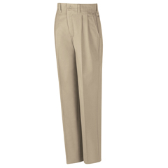 UNFPT32KH-42-36U - Red KapMens Pleated Work Pant