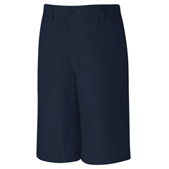 UNFPT42NV-46-10 - Red KapMens Plain Front Side Elastic Short