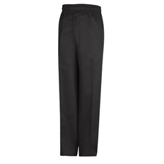 UNFPT55BK-RG-S - Chef DesignsMens Baggy Chef Pant with Zipper Fly