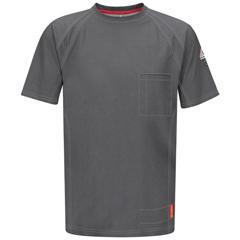 UNFQT30CH-SSL-XL - BulwarkMens iQ Short Sleeve Tee Shirt